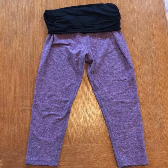fda25ae69865bd Beyond the Bump Pants - Beyond Yoga maternity What's Kickin Capri Legging